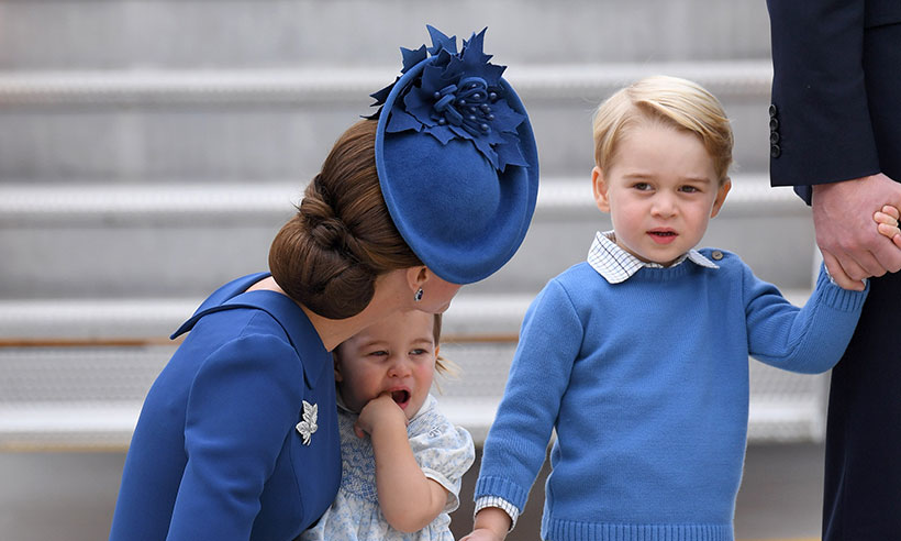 Kate Middleton famille au canada